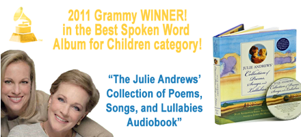 2011 Grammy Winner for Julie Andrews Collection Audio