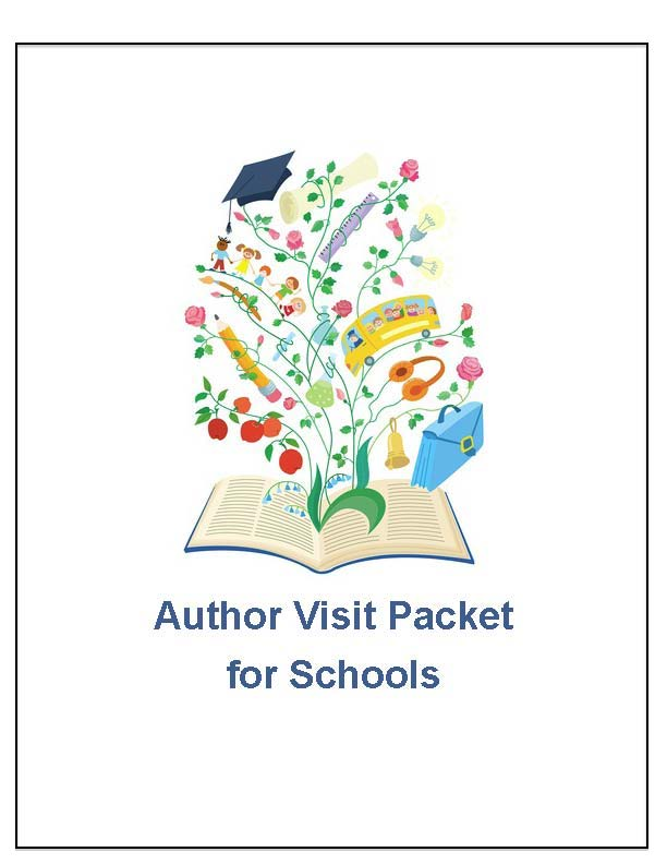 Pages from Author Visit Packet - customizable (for schools)